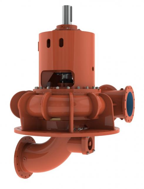 Vertical Pumps for Water with Solid Inclusions of Mercury (E)RWV Series
